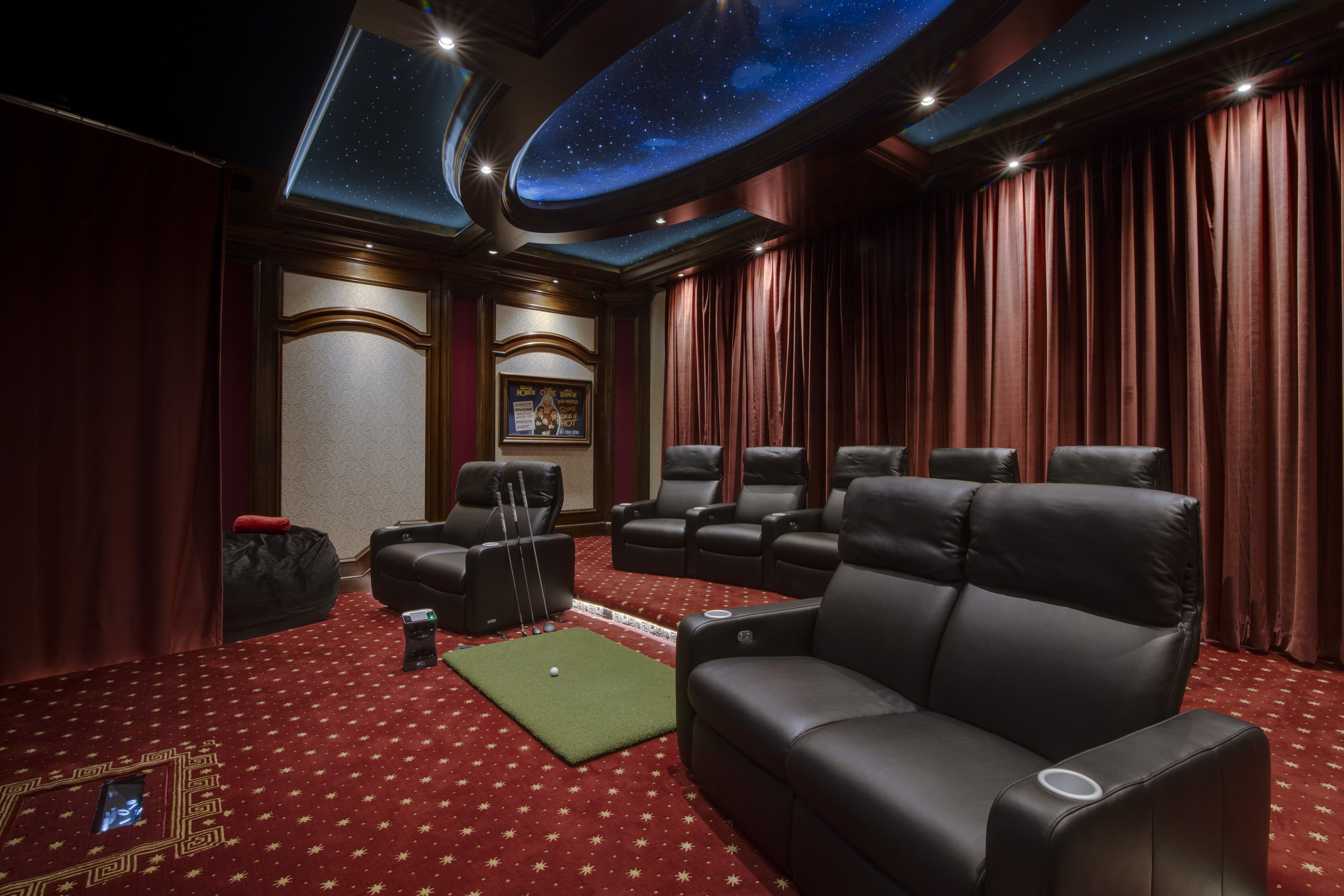 Home Theater Amp Golf Simulator In Lake Nona Totalcare Orlando