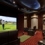 Orlando home golf simulator